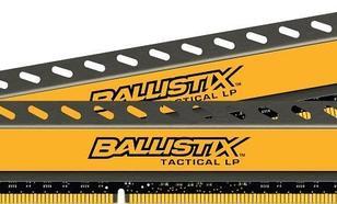 Crucial DDR3 Ballistix Tactical 8GB(2*4GB) CL8-8-8-24 Low Voltage, Low Profile