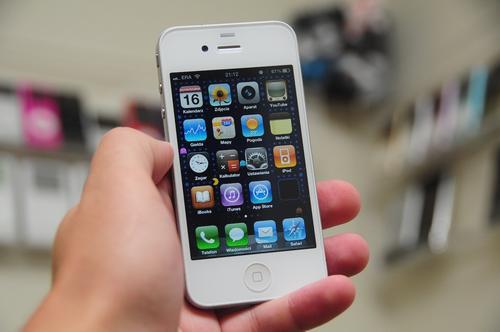 Biały iPhone 4