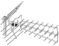 Dipol UHF 44/21-69 Tri Digit