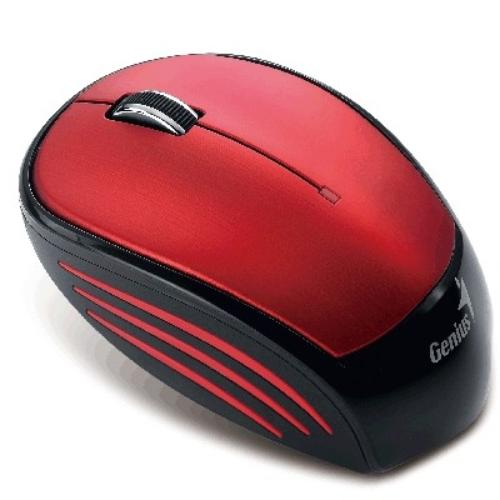 Genius NX-6500 Red USB 18m-cy bateria