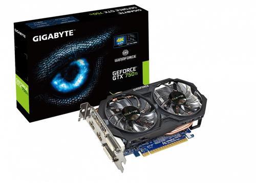 Gigabyte GeForce CUDA GTX750Ti OC 2GB DDR5