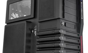 Thermaltake LEVEL10 GT Big Tower USB 3.0 Window (120mm 140mm 3x200mm, LED), czarna