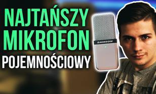 Najtańszy Mikrofon Pojemnościowy! Samson Go Mic