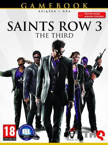 Saint's Row The Third (Saint's Row 3) - książka + gra