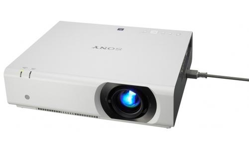 Sony 3LCD XGA, 4100lm, 3100:1 HDMI,DVI,RS232,RJ45, 5.5kg