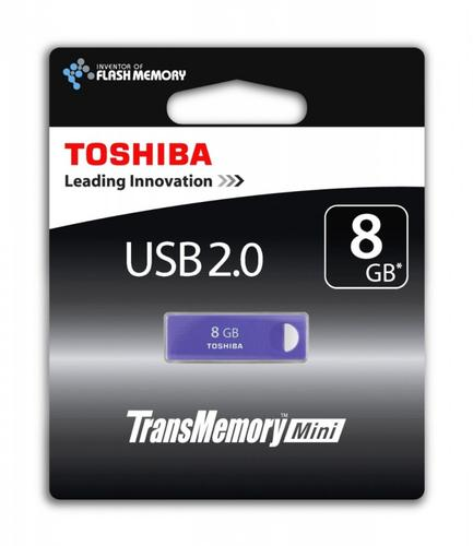 Toshiba ENSHU 8GB USB 2.0 PURPLE-BLUE