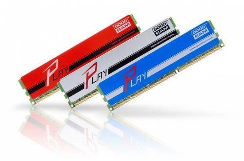 GoodRam DDR3 PLAY 4GB/1600 Srebrny