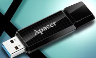 Apacer Flash Drive AH352 8GB USB 3.0 Black
