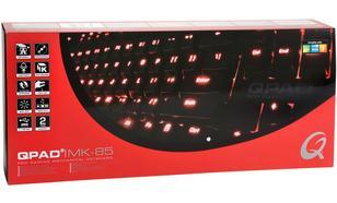 QPAD MK-85 Cherry Brown Klawiatura dla graczy