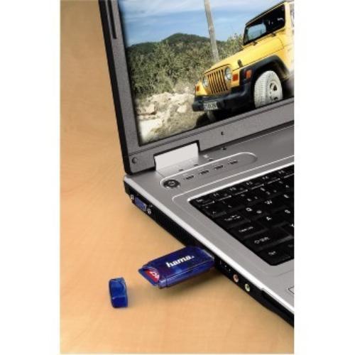Hama Czytnik kart pamięci 6 w 1 USB 2.0