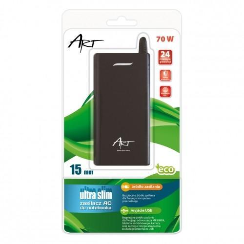 ART Zasilacz AC 18,5V 3,5A wtyk 7.4x5.0mm PIN slim 70W
