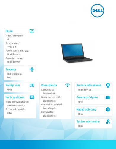 """Dell Latitude 3550 Win78.1Pro(64-bit win8, nosnik) I5-5200U/1TB/8GB/BT.4.0/4-cell/Office 2013 Trial/NVIDIA GF830M/15.6""""HD/3Y NBD"""