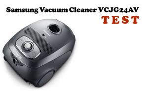 Samsung Canister Vacuum Cleaner  VCJG24AV - czas na noworoczne porządki