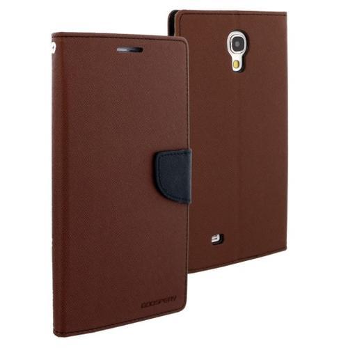 """WEL.COM Etui skórzane Fancy do Samsung Galaxy Tab 3 8"""" brązowo-czarne"""