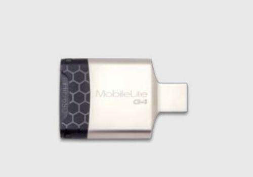 Kingston Czytnik Kart USB3 SDHC/microSDHC METAL