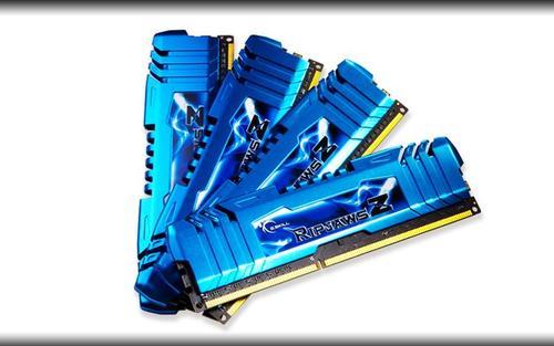 G.SKILL DDR3 32GB (4x8GB) RipjawsZ 2133MHz CL10 XMP