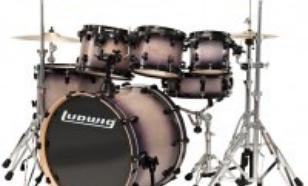 Ludwig Element Fusion LCB20FX-BF + hardware CS400