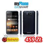 myPhone DuoSmart z obniżoną ceną i darmowym internetem na rok w Biedronce!