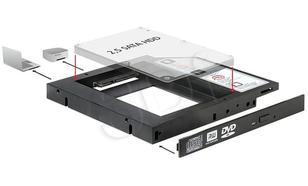 DELOCK RAMKA MONTAŻOWA SLIM SATA 5.25->HDD/SSD 2.5