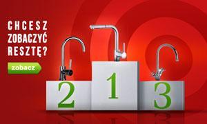 Czołowe Baterie Kuchenne - Ranking Kwiecień 2015