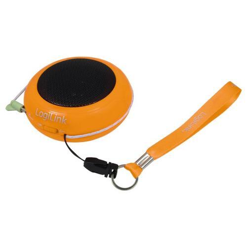 LogiLink Przenośny do Mp3/telefonu - pomarańczowy
