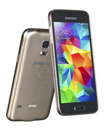SAMSUNG GALAXY S5 MINI G800 GOLD DUAL SIM