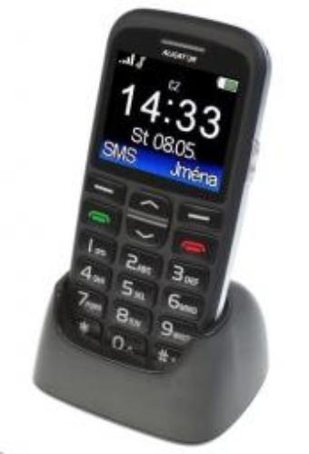 Telefon komórkowy Aligator Senior Czarny (A680b)