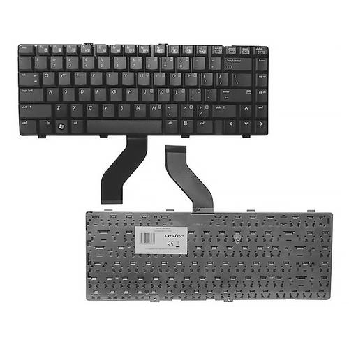 Qoltec Klawiatura do notebooka HP DV6000 BLACK
