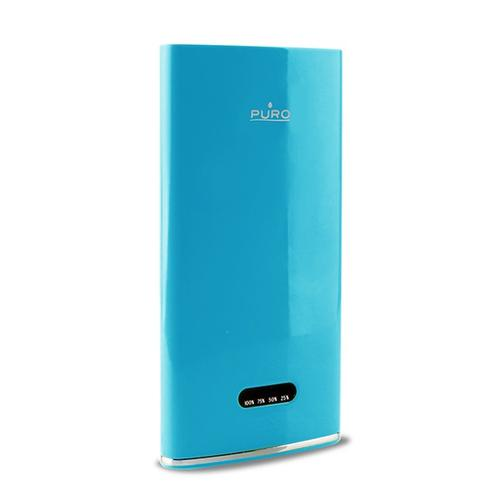 Puro External Battery Power Bank 4000 mAh niebieski