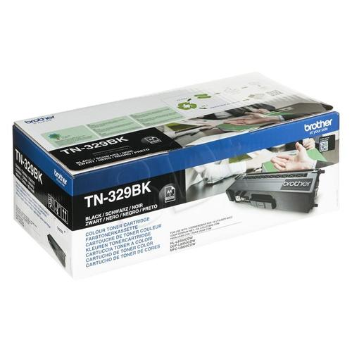 BROTHER Toner Czarny TN329BK=TN-329BK, 6000 str.