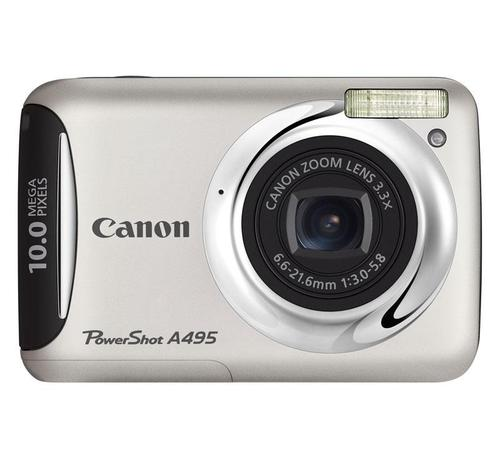 CANON PowerShot A495 (SREBRNY)