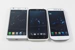 HTC One X, LG Swift 4X HD i Samsung Galaxy SIII - bezpośrednie porównanie smartfonów