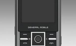 General Mobile DST3G Cool Black