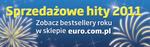 Sprzedażowe hity 2011 w sklepie euro.com.pl