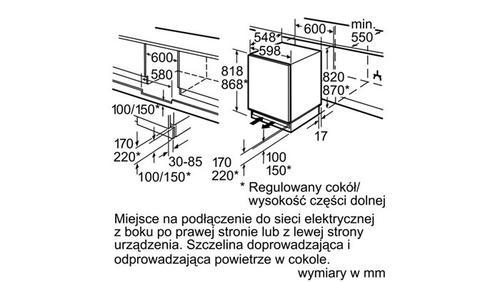 Siemens KU15LA65 Chłodziarko-zamrażarka