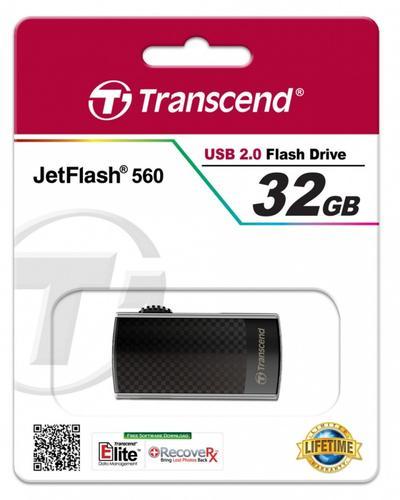 Transcend JETFLASH 560 32GB USB 2.0 Metal