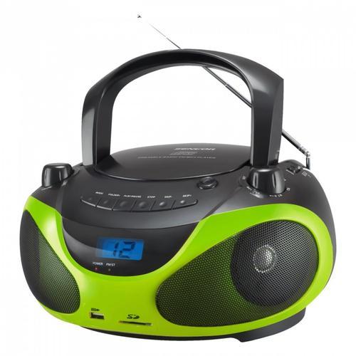 SENCOR Przenośny radioodtwarzacz CD, odtwarza CD/CDR/CDRW/MP3/USB/SD