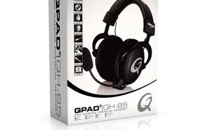 QPAD QH-85 Czarne Słuchawki dla graczy
