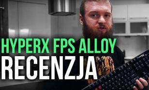 HyperX FPS Alloy - Mobilna Klawiatura dla Pro Graczy