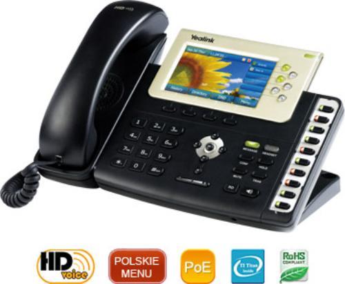 Yealink Telefon VoIP T38G - 6 kont SIP