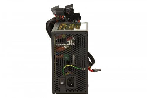 LC-Power ZASILACZ 600W LC9650 V2.3 80+ GOLD 135mm 6x SATA 2x PATA2x PCIe EPS Active PFC Black