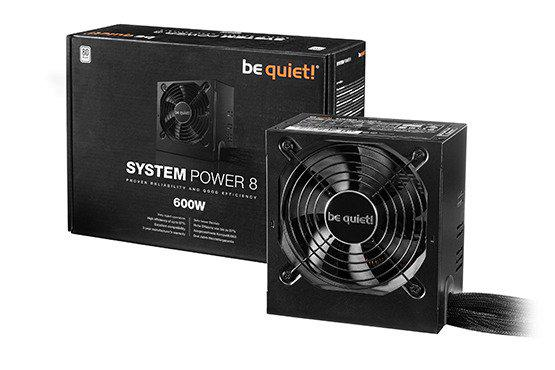 be quiet! SYSTEM POWER 8 600W (BN242)