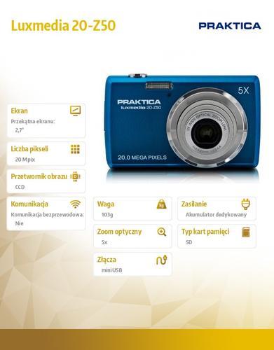 Praktica Luxmedia 20-Z50 niebieski