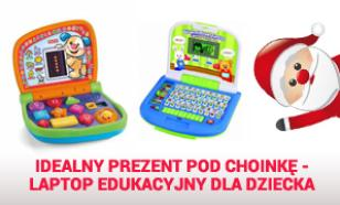 Idealny Prezent Pod Choinkę - Laptop Edukacyjny Dla Dziecka