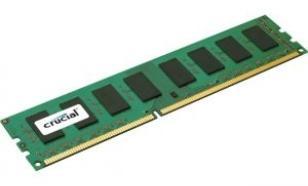 Crucial DDR3 4GB/1600 CL11 256*8 Dual Rank