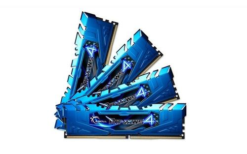 G.SKILL DDR4 32GB (4x8GB) Ripjaws4 2666MHz CL16 XMP2 Blue