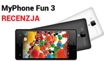 MyPhone Fun 3 - Trzeci Brat Bliżniak