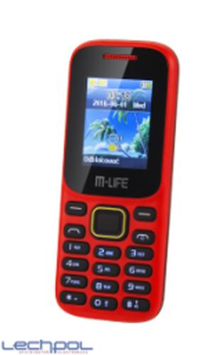 M-Life ML0586.1 czerwony