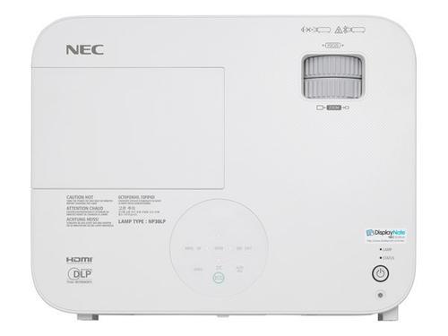 NEC M322X DLP XGA 3200lm 10000:1, HDMI RCA RJ45