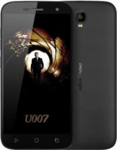 Smartfon UleFone U007 Czarny (U6937748730347_B)